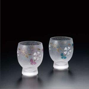 四季めぐり桜酒グラスペアセット