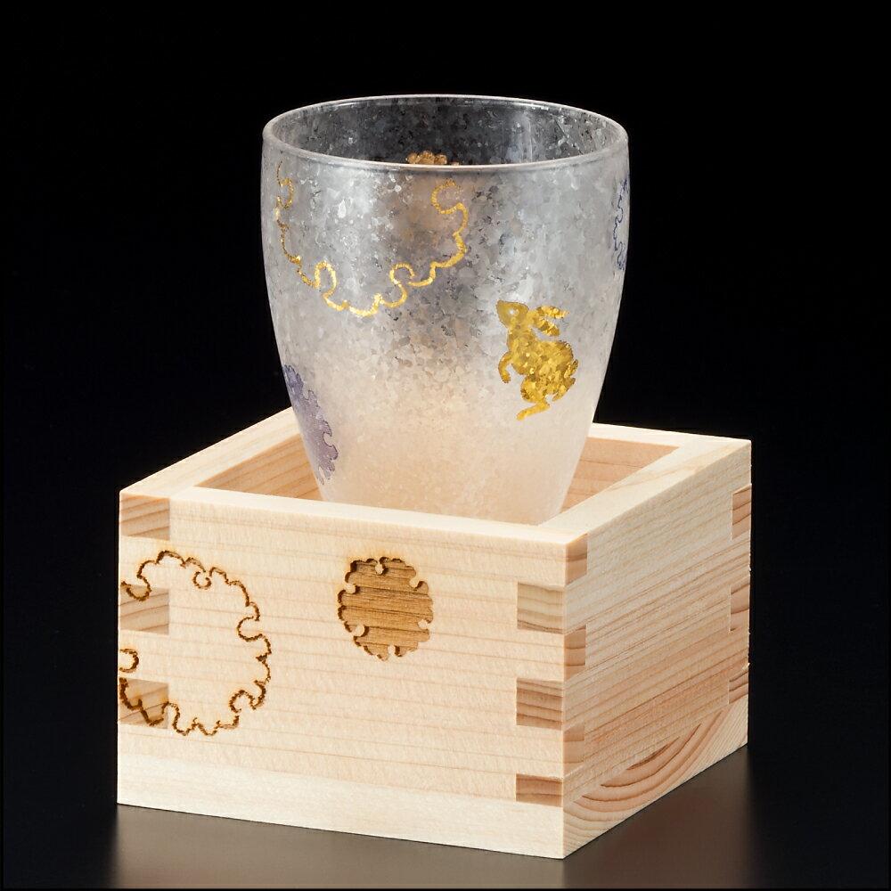 プレミアム雪兎枡酒グラス