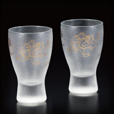 プレミアム鳥獣戯画酒グラスペアセット