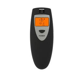 【送料無料】口臭チェッカー 5段階 イラスト表示 エチケット 口臭レベル 匂い ニンニク料理 チェック 検査 持ち歩き簡単 ET-KOUCHA-BK