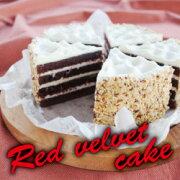 レッドベルベットケーキ チョコレート アメリカ アメリカンスイーツ