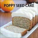 ポピーシードケーキ ?カルピスバターがたっぷり入ったパウンドケーキ? 【パウンドケーキ】【バターケーキ】【ブルーポピーシード】【アメリカ菓子】【アメリカンスイーツ】【POPPY SEED CAKE】