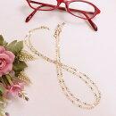 18金のメガネチェーンインフィニティエックスK18ネックレスにもなる2WAY眼鏡チェーンゴールド母の日父の日敬老の日プレゼント