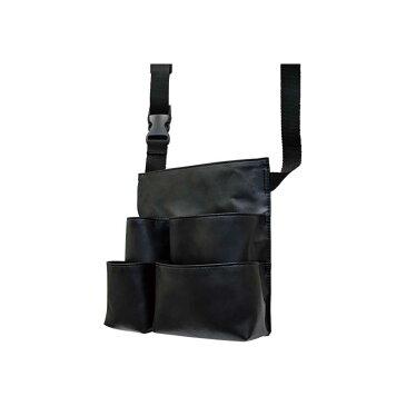 美容師さん、ヘアメイクさんのコンビニバッグ コンパクトなのにマチが大きくて大容量、機能的なウエストバッグです
