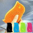 マーナ ペンギン キッチンスポンジ キッチン用品/スポンジ/kitchen sponge K266