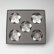 箸置-「花ばな」桜5ヶ入