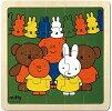 【木製パズル】ミッフィーとおともだち/知育玩具/幼児向/新品