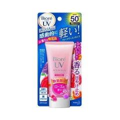 ビオレ さらさらUV アクアリッチ ウォータリーエッセンス ローズの香り 50g 【正規品】
