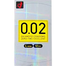 コンドーム/0.02EX Lサイズ 12コ入×144個セット 1ケース分 【正規品】:ソレイユ