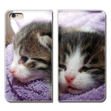 Galaxy A41 SCV48 スマホ ケース 手帳型 ベルトなし 猫 CAT ペット ネコ ねこ スマホ カバー ねこ02 eb14201_02