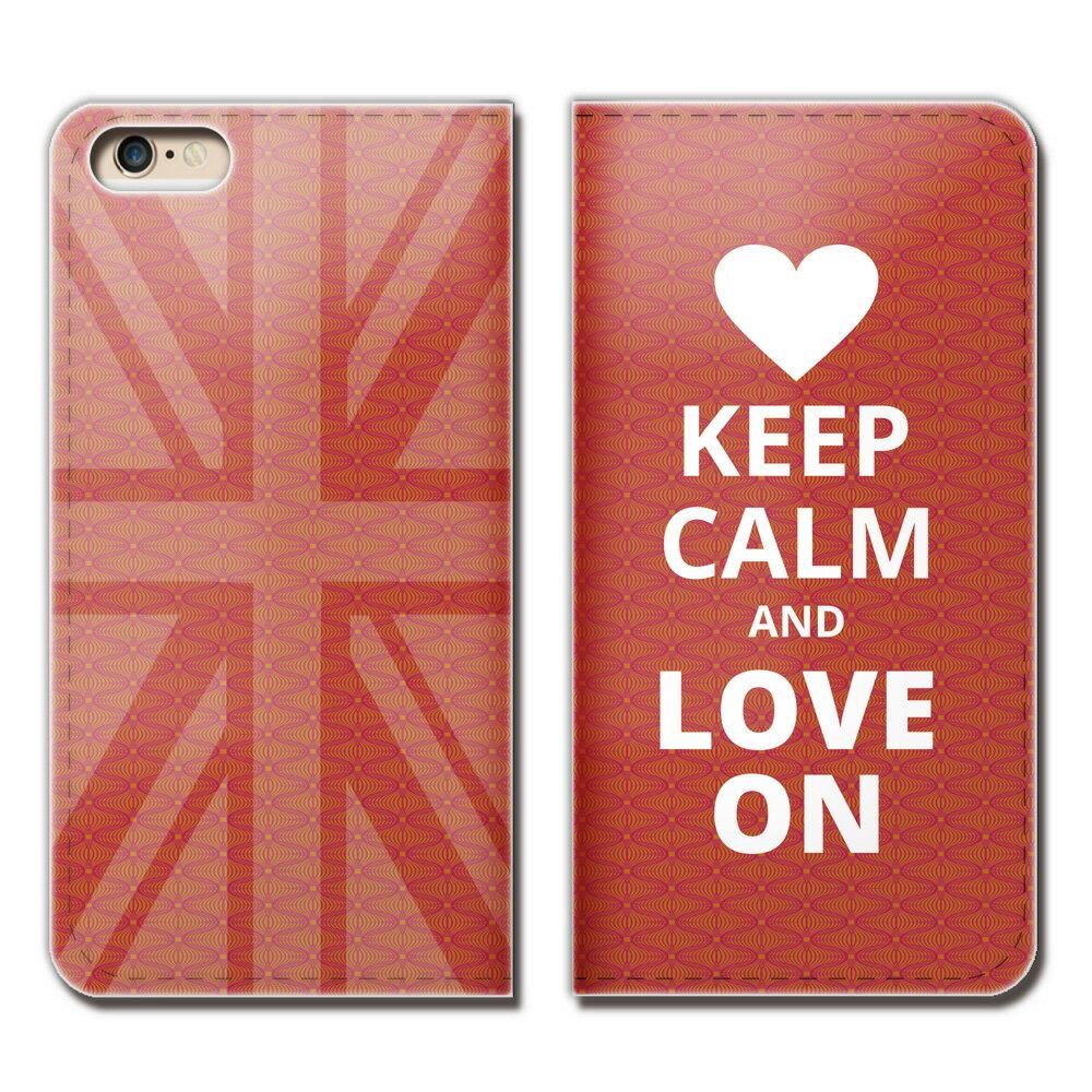 iPhone XR 6.1 iPhoneXR ケース 手帳型 ベルトなし Keep Calm 格言 イギリス スマホ カバー パロディ07 eb16601_01