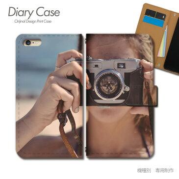Xperia XZs 手帳型ケース SOV35 PHOTO 女性 カメラ 海 スマホケース 手帳型 スマホカバー e017602_03 エクスペリア えくすぺりあ ソニー