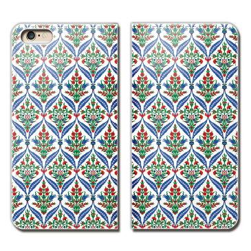 Huawei P10 Lite WAS-LX2J ケース 手帳型 ベルトなし アラベスク 螺旋 幾何学 植物 花 スマホ カバー アラベスク04 eb23702_01