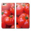 AQUOS sense2 SIMフリー SH-M08 スマホ ケース 手帳型 ベルトなし 野菜 サラダ トマト TOMATO とまと スマホ カバー カラフル01 eb00404_03