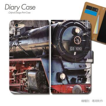Xperia 1 手帳型 ケース 802SO 鉄道 列車 電車 機関車 駅 線路 スマホ ケース 手帳型 スマホカバー e027702_03 エクスペリア えくすぺりあ ソニー