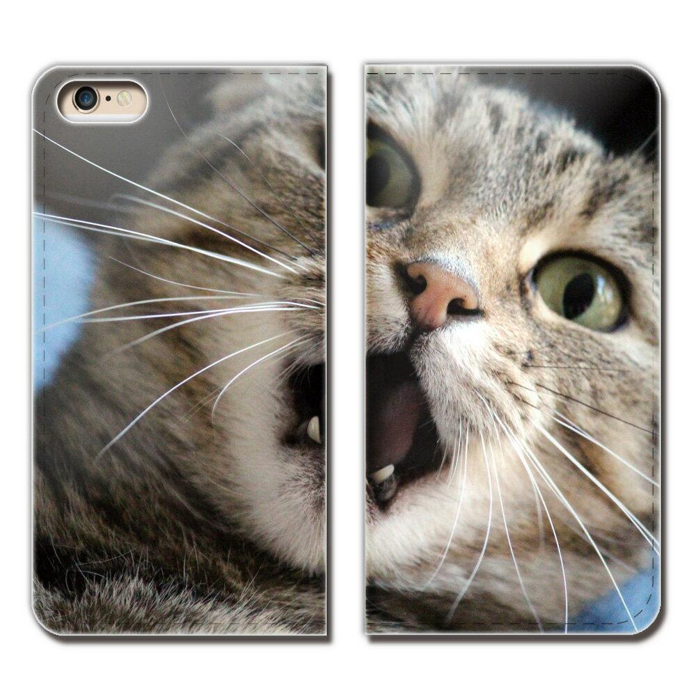 iPhone XR 6.1 iPhoneXR ケース 手帳型 ベルトなし 猫 ねこ ネコ 写真 ペット 子猫 かわいい スマホ カバー ねこ15 eb26101_04