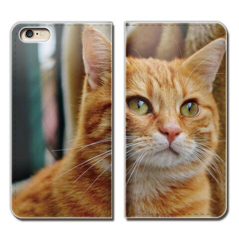 AQUOS sense lite SH-M05 ケース 手帳型 ベルトなし 猫 ねこ ネコ 写真 ペット 可愛い スマホ カバー ねこ15 eb26104_05
