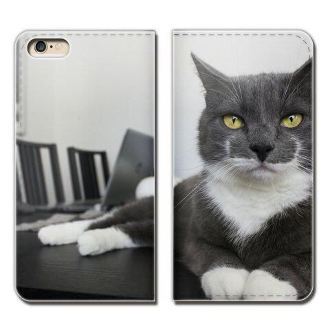 Huawei P10 Plus VKY-AL00 ケース 手帳型 ベルトなし 猫 ねこ ネコ 写真 ペット 子猫 スマホ カバー ねこ16 eb26704_04