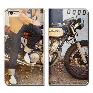 Xperia 5 901SO スマホ ケース 手帳型 ベルトなし バイク オートバイ ライダー ロード スマホ カバー bike01 eb27104_05