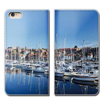 Galaxy S6 edge SCV31 ケース 手帳型 ベルトなし 観光船 ヨット 船舶 ボート 海 スマホ カバー Ship01 eb28304_02