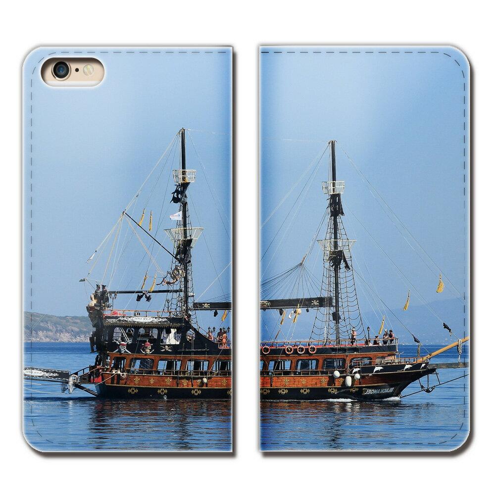 HTC U11 life X2-HT ケース 手帳型 ベルトなし 観光船 ヨット 船舶 ボート 海 スマホ カバー Ship01 eb28304_03