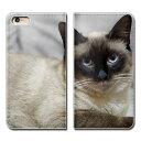 iPhone6s Plus 5.5 iPhone6sPlus ケース 手帳型 ベルトなし 猫 にゃんこ キャット ペット ネコ……