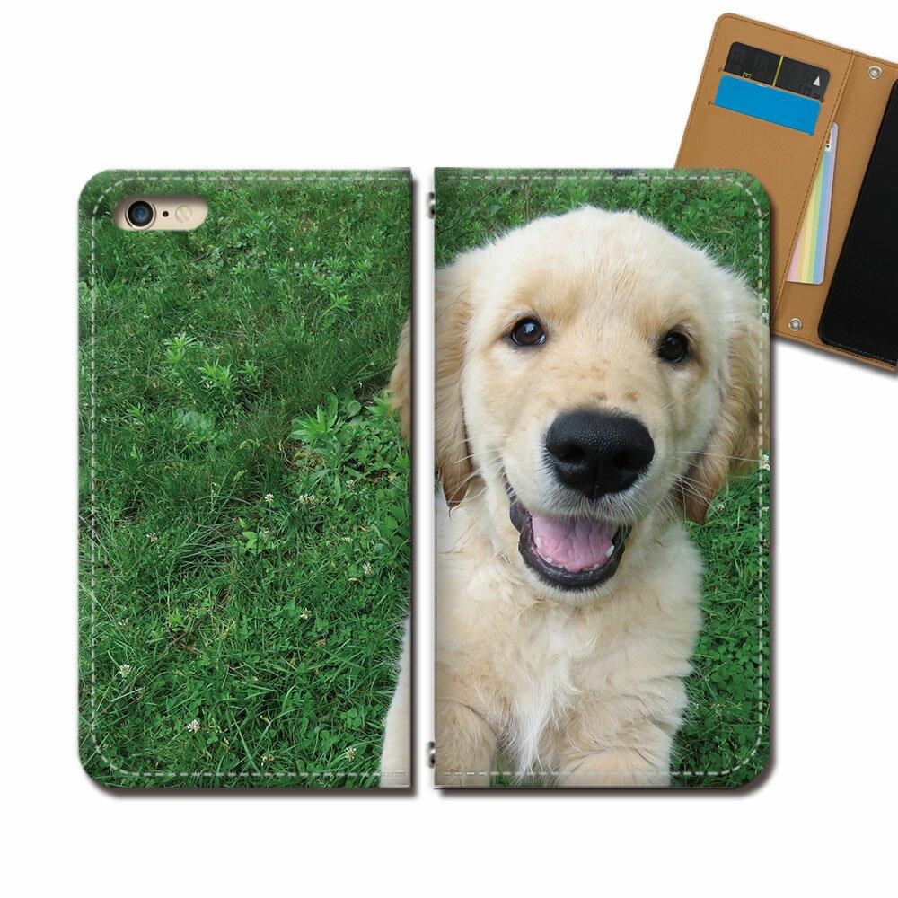 Android One X5 スマホ ケース 手帳型 ベルトなし 子犬 イヌ いぬ ペット ダックス スマホ カバー いぬ画像 eb29904_05