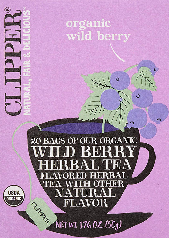 クリッパーワイルドベリーティーCLIPPERWildBerryOrganicHearbalTea50g20ティーバッグオーガニックカフェインレス有機ハーブティーフルーツティーフレーバーティーお茶紅茶イギリス英国直送品