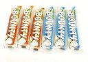 バウンティ (Bounty) ココナッツ入りチョコレート ミルクチョコレートx3本 ダークチョコレートx3本 各57g(計57gx6本)日本未発売【英国直送品】