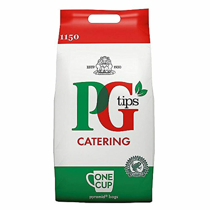 茶葉・ティーバッグ, 紅茶  (PG Tips ) 1150 (Pyramid Tea Bags for ONE-CUP)