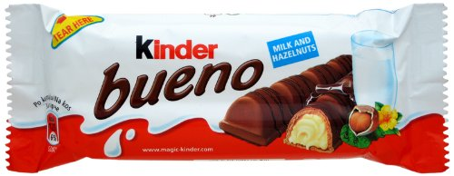 チョコレート, チョコレートスナック  (Kinder Bueno) 43g x 12pcs