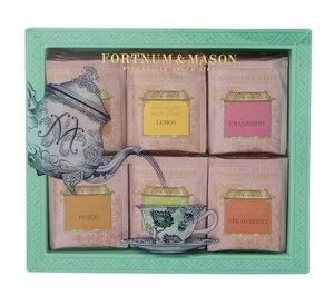 Fortnum&Mason Fruits Tea 60bags フォートナム&メイソン フルーツフレーバーティー 5種類 60ティーバッグ セレクション [海外直送品]