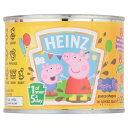 Heinz Peppa Pig Pasta Shapes in Tomato Sauce (205g) トマトソースハインツpeppa豚のパスタ形状( 205グラム)