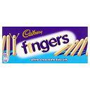 ホワイトチョコレートフィンガー138グラム (Cadbury) - Cadbury White Chocolate Fingers 138g