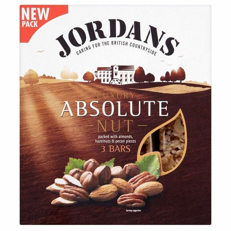 シリアル, その他 Jordans Absolute Nut Luxury Bars (3x45g) 3X45G