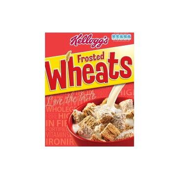 Kellogg's Frosted Wheats (500g) ケロッグすりガラス小麦( 500グラム)