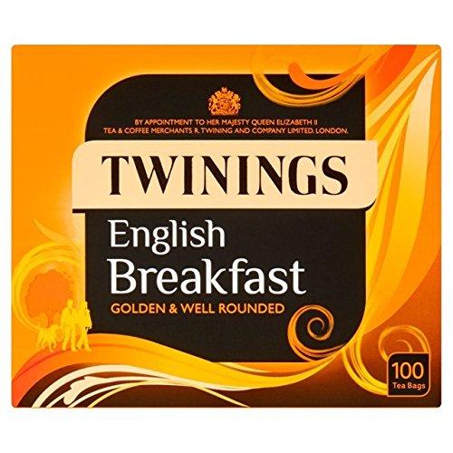 茶葉・ティーバッグ, 紅茶 100 - Twinings English Breakfast Tea Bags 100 per pack