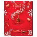 Lindt Lindor Milk Chocolate Advent Calendar 315g クリスマス アドベントカレンダー リンツ リンドールミルクチョコレート スイスチョコ【英国直送】