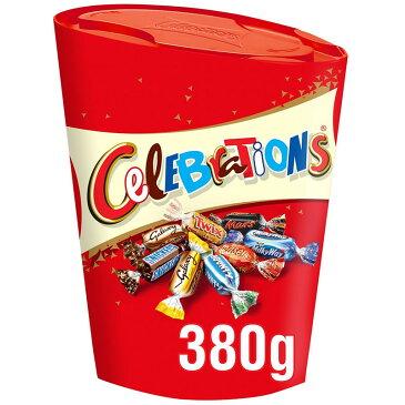 Celebrations Large Carton 380g セレブレーション チョコ 詰め合わせ 大容量 クリスマスギフト チョコレート イギリス【英国直送】
