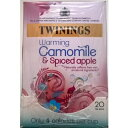 Twinings Camomile & Spiced Apple Teabags - 4 x 20's