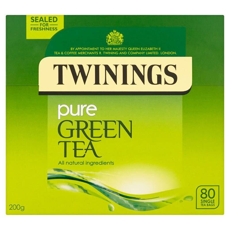 茶葉・ティーバッグ, 紅茶 Twinings Pure Green Tea 80 Bag 80