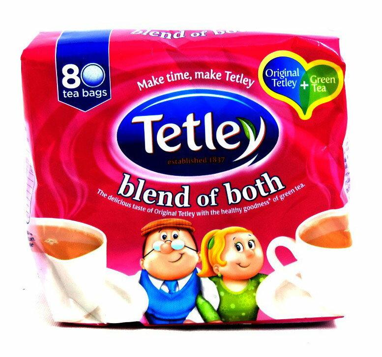 茶葉・ティーバッグ, 紅茶 Tetley - Blend Of Both - 250g