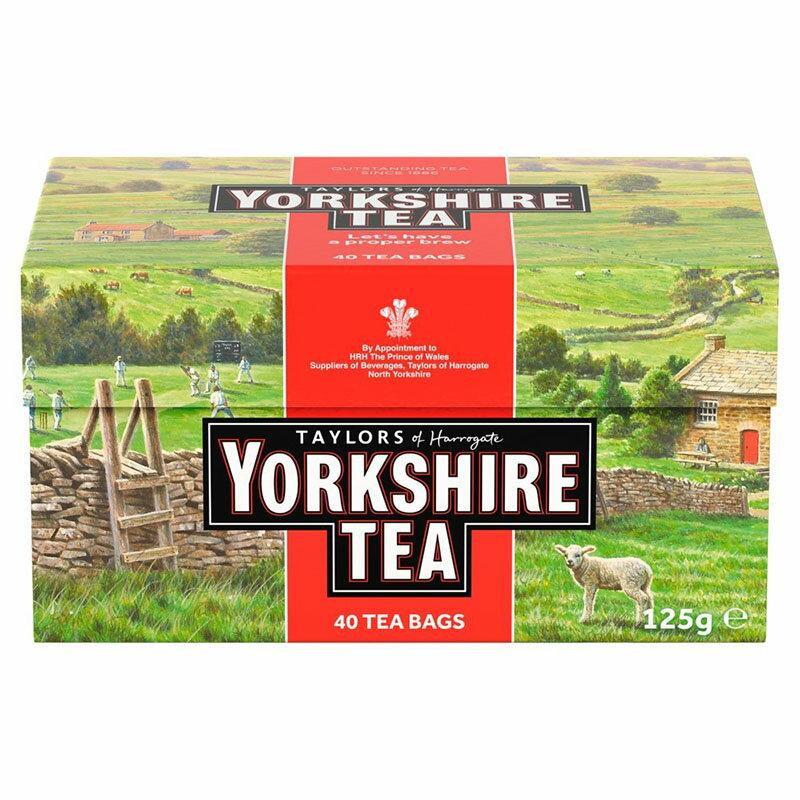 YorkshireTea40bags紅茶ヨークシャーティー40ティーバッグテイラーズオブハロゲートイギリス