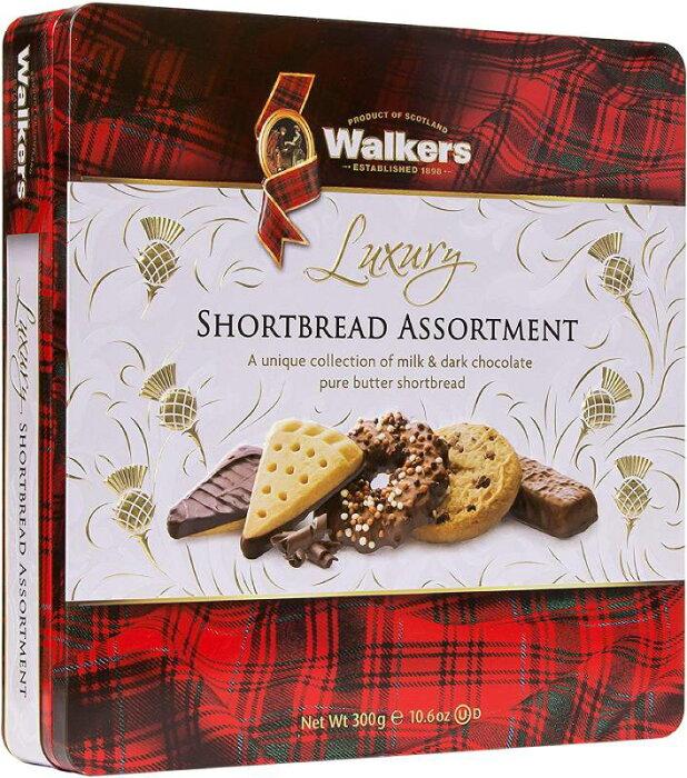 Walkers Shortbread Luxury Chocolate Assortment Tin 300g