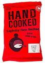 Marks & Spencer マークス&スペンサー ポテトチップス Marks & Spencer Hand Cooked Lightly Sea Salted Crisps 40g (Pack of 6)