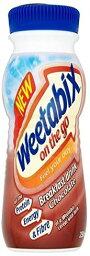 チョコレートドリンク Weetabix On The Go Drink Chocolate 250ml (Pack of 4) [並行輸入品]