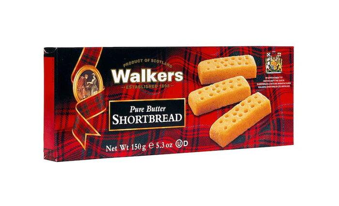 ウォーカーズ ショートブレッドフィンガー 150g x 6個 Walkers Shortbread Fingers, 5.3 Ounces (Pack of 6) イギリスお土産 お菓子 ビスケット クッキー