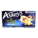 アイスクリーム ウエハース 48枚 Askeys Ice Cream Wafers x 48 150g