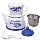 コーヒーでも紅茶でも素敵なティータイムを演出します2〜4人用カリタ Kalita 陶器製器具 ツーウ...