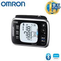 オムロン 手首式 血圧計 血圧 脈拍 不規則脈波表示 正確測定 サポート機能 Bluetooth バックライト 液晶画面 通信機能 メモリ機能 2人 サイレント測定 手首カフ iPhone Android スマートフォン